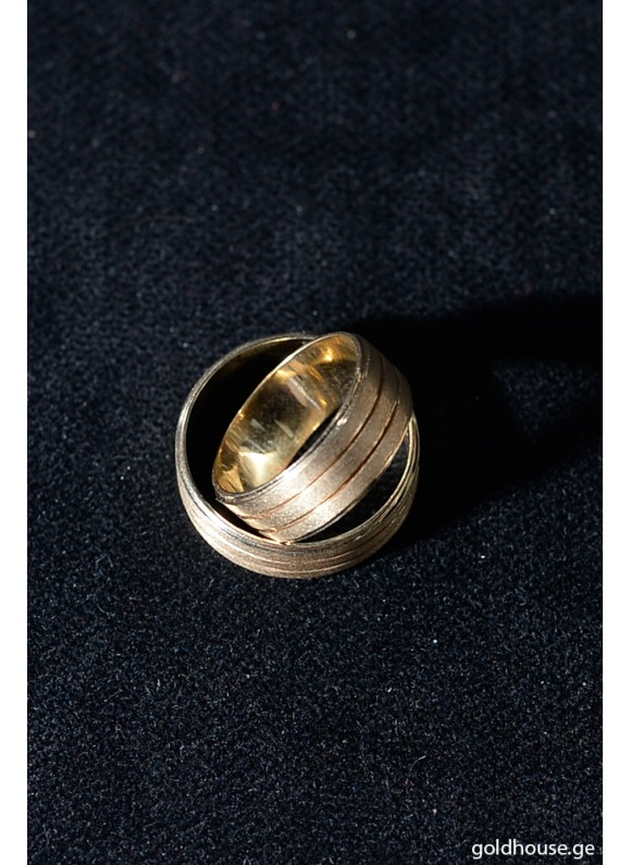 ოქროს  საქორწინო ბეჭედი K2